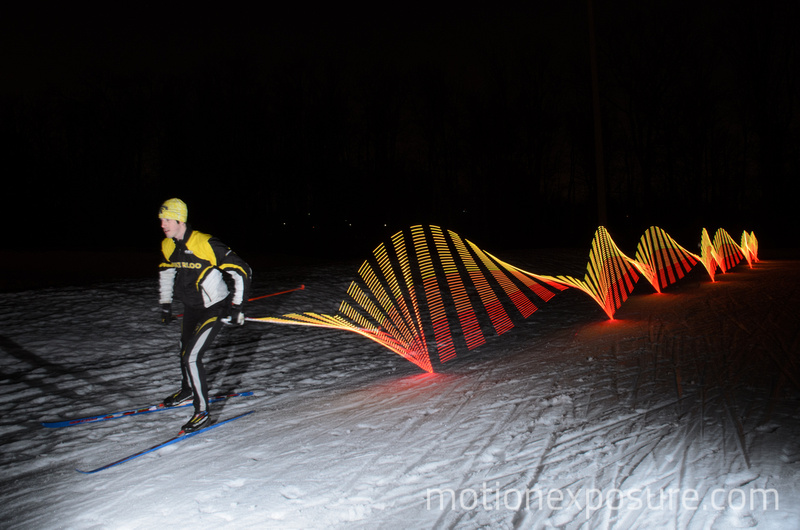 Motion Exposure: Cross-Country Skiing &emdash;