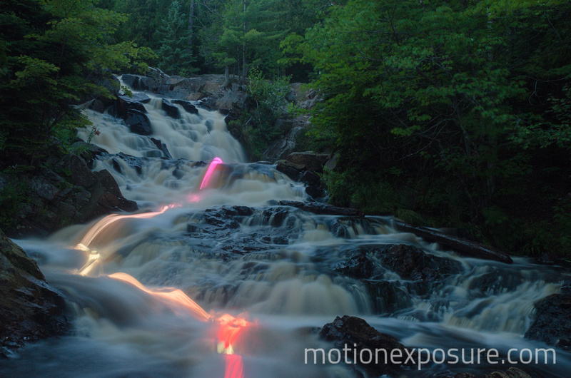 Motion Exposure: Waterfall &emdash;